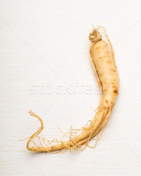 свежие женьшень Stick продовольствие здоровья фон Сток-фото © leungchopan