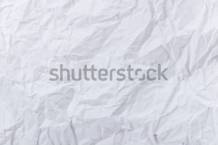 White creased paper Stock photo © leungchopan