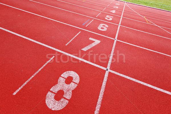 Running Track Stock photo © leungchopan
