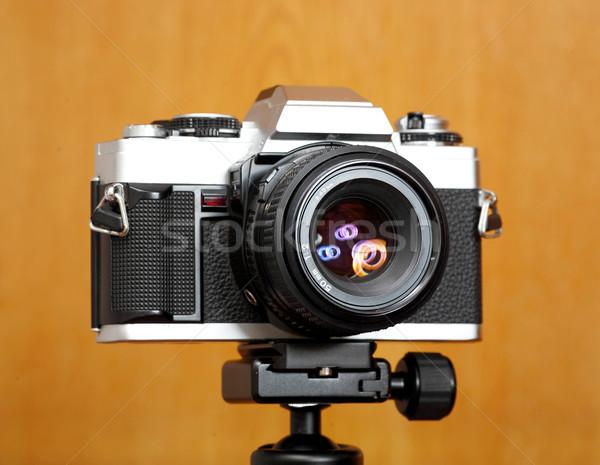 Old camera Stock photo © leungchopan