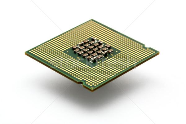 Pc processeur technologie bord Photo stock © leungchopan