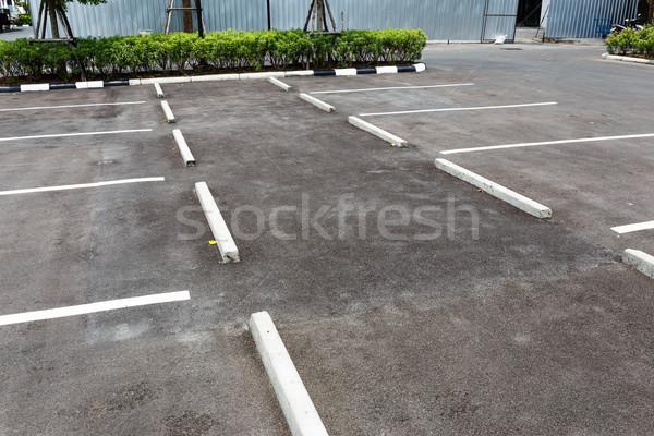 Vide extérieur parking voiture espace urbaine Photo stock © leungchopan