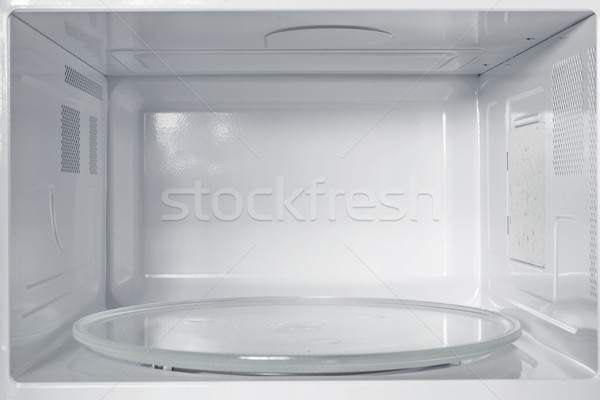 Inside of the microwave oven Stock photo © leungchopan