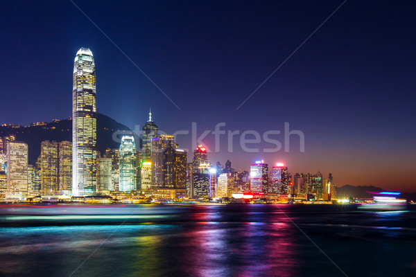 Hong Kong landscape Stock photo © leungchopan