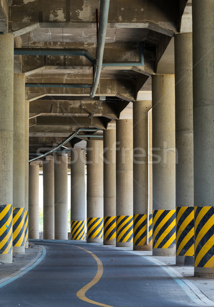 The view under the viaduct Stock photo © leungchopan
