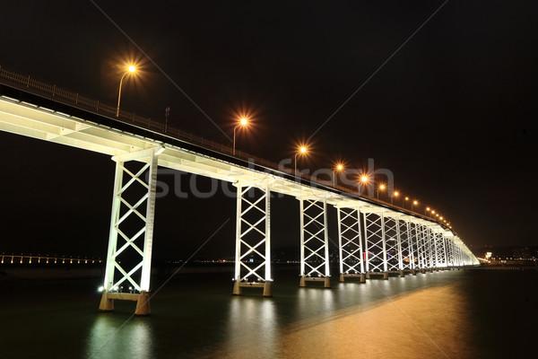 bridge in macau Stock photo © leungchopan