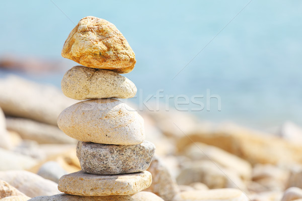 balance rock Stock photo © leungchopan