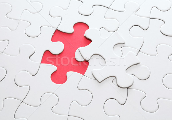puzzle with missing part Stock photo © leungchopan