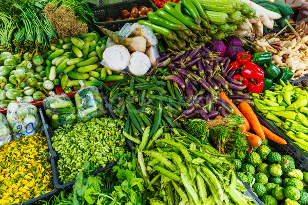 Vegetable in the market Stock photo © leungchopan