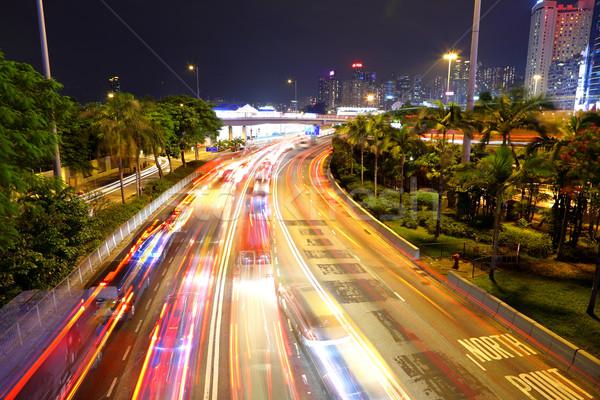 Embouteillage résumé fond autoroute temps stress Photo stock © leungchopan