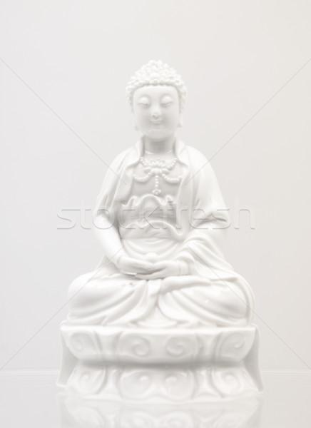 Statua culto asian cinese Asia antichi Foto d'archivio © leungchopan