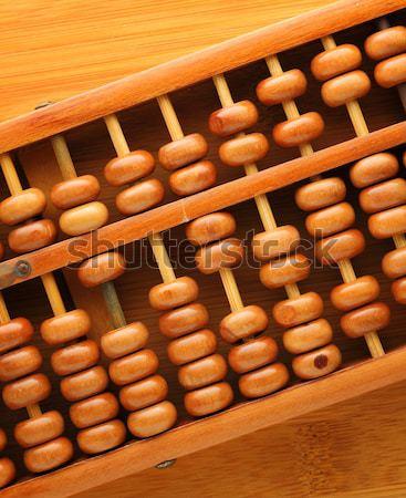 счеты Бар Финансы азиатских белый инструментом Сток-фото © leungchopan