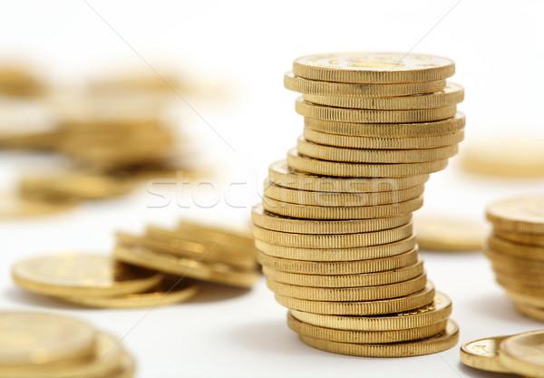 coins Stock photo © leungchopan