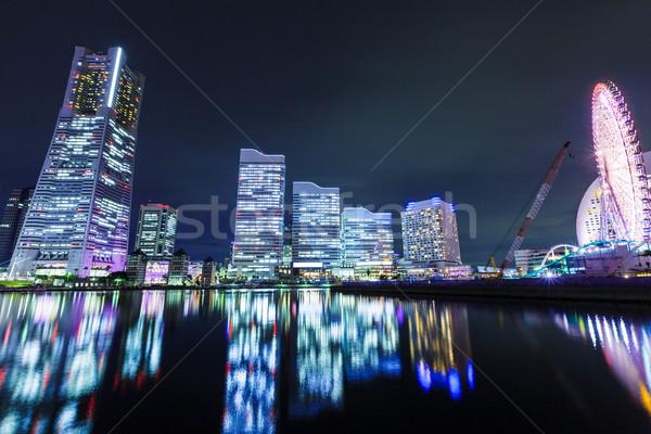 Иокогама Япония бизнеса здании город Сток-фото © leungchopan