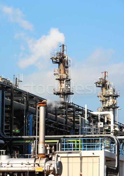 Gas industry plant Stock photo © leungchopan