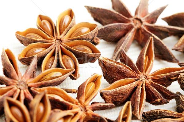 Stelle anice alimentare star colore sementi Foto d'archivio © leungchopan