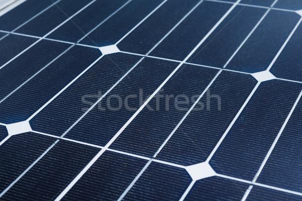 Napelem energia erő sejt nap napfény Stock fotó © leungchopan