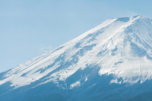 Dağ fuji Japonya manzara kar buz Stok fotoğraf © leungchopan