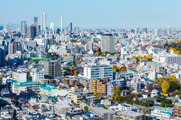 Cityscape Tokyo gökyüzü ev Bina ev Stok fotoğraf © leungchopan