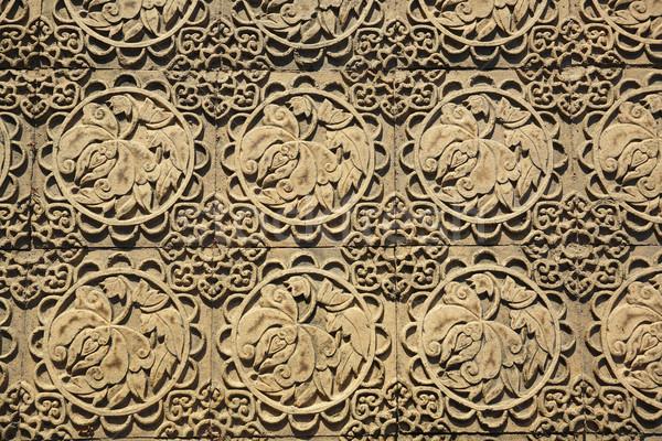 chinese tile Stock photo © leungchopan