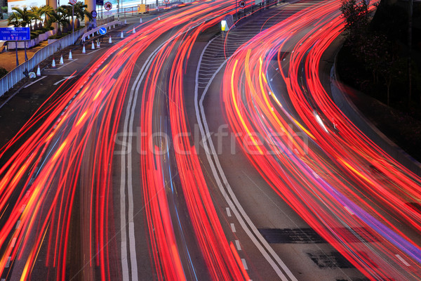 Highway in Hong Kong Stock photo © leungchopan
