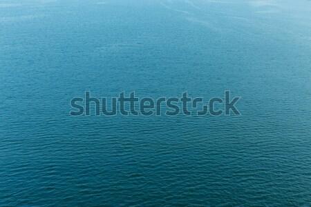 Ripple powierzchnia wody tle lata basen niebieski Zdjęcia stock © leungchopan