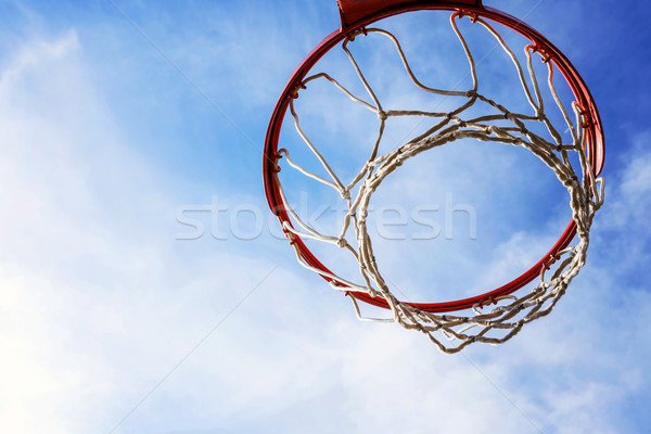 Basketball cage Stock photo © leungchopan