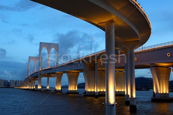 bridge in Macao Stock photo © leungchopan
