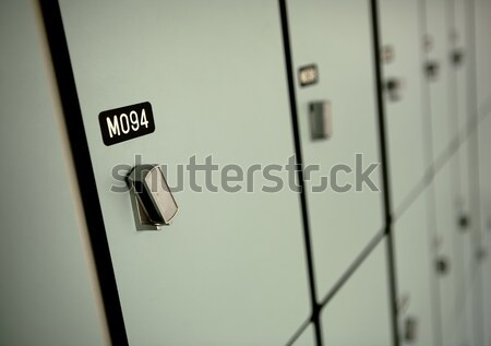 locker Stock photo © leungchopan