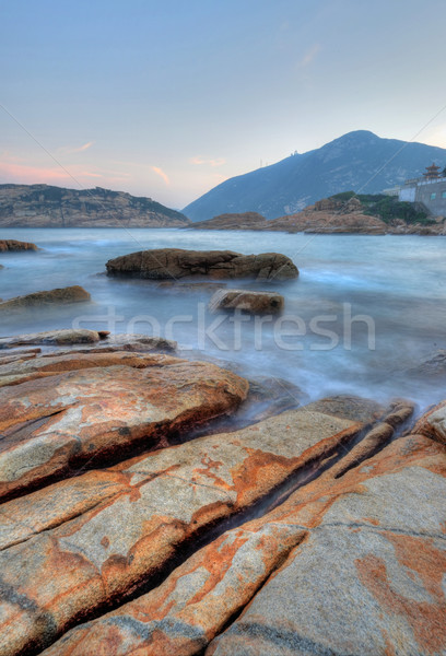 Shek O coast, in Hong Kong, China Stock photo © leungchopan