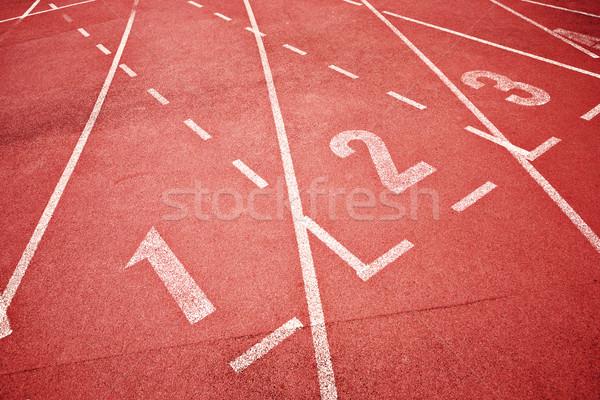 Foto stock: Corrida · seguir · atletas · textura · esportes · fitness