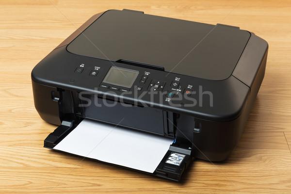 внутренний принтер служба технологий столе чернила Сток-фото © leungchopan