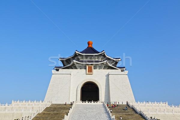 chiang kai shek memorial hall Stock photo © leungchopan