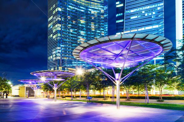 シンガポール オフィスビル オフィス 建物 1泊 企業 ストックフォト © leungchopan