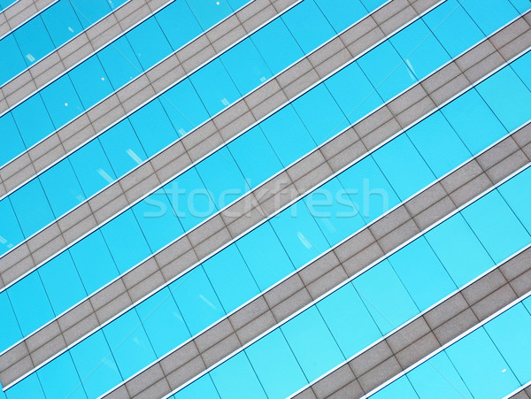 glass building wall Stock photo © leungchopan