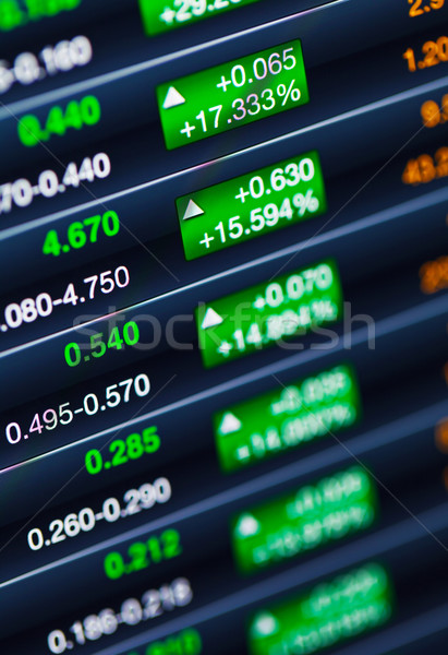 Boosting of the stock market Stock photo © leungchopan