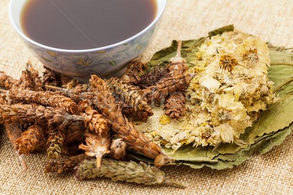 Traditional chinese herbal tea Stock photo © leungchopan