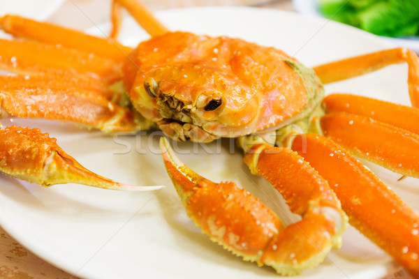 Alasca rei caranguejo comida mar Foto stock © leungchopan