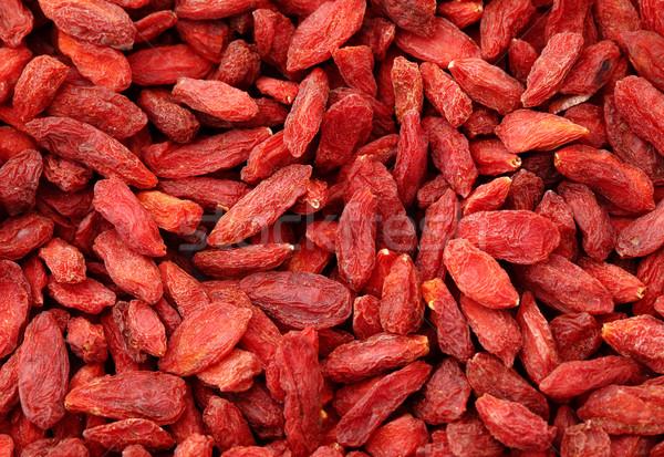 Dried wolfberry fruit Stock photo © leungchopan
