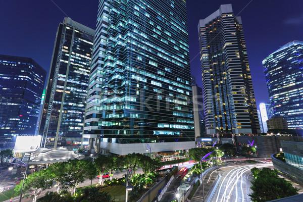 city at night Stock photo © leungchopan