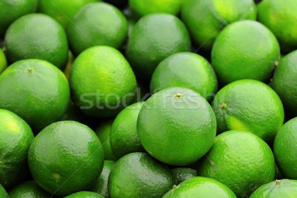 извести цитрусовые природы зеленый пить лимона Сток-фото © leungchopan