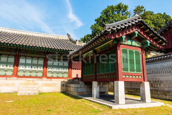 Tradycyjny architektury domu budynku ściany projektu Zdjęcia stock © leungchopan