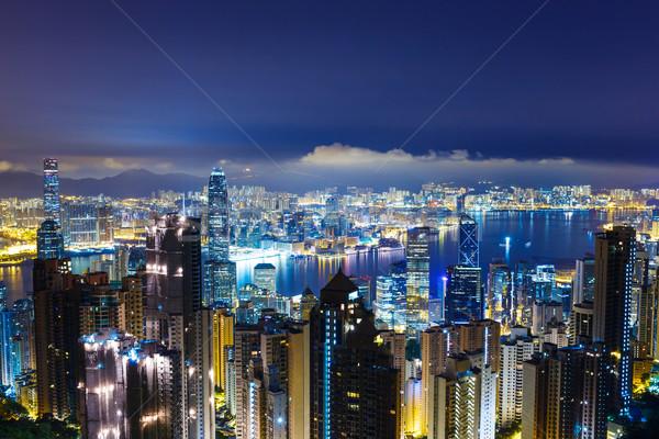 Hong Kong night Stock photo © leungchopan