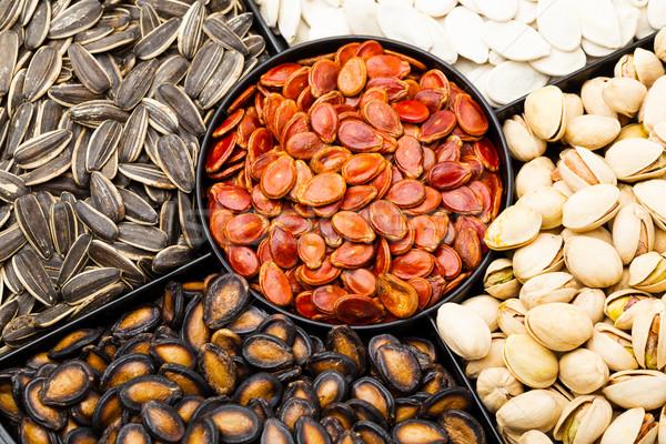 Chinese New Year snack box Stock photo © leungchopan