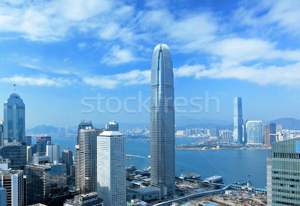 Гонконг бизнеса служба здании город пейзаж Сток-фото © leungchopan