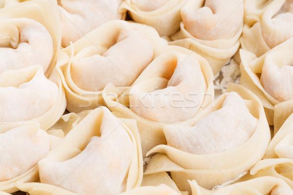 Chinese dumpling close up Stock photo © leungchopan