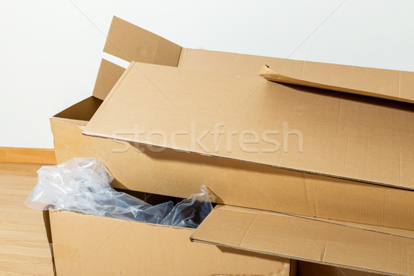 Wasted carton box Stock photo © leungchopan