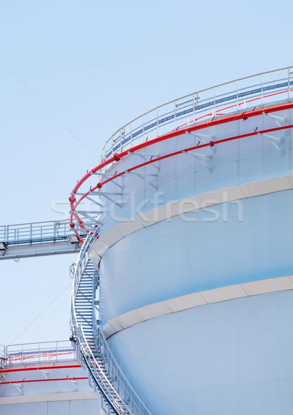 Oil storage tank Stock photo © leungchopan