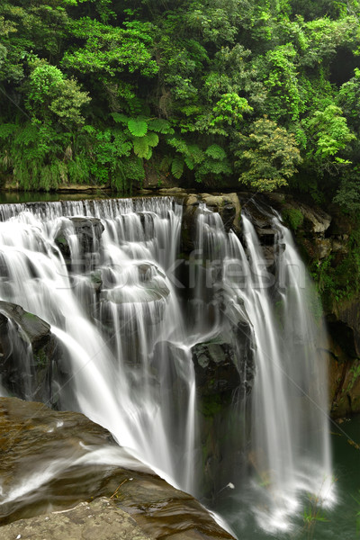 waterfalls in shifen taiwan Stock photo © leungchopan