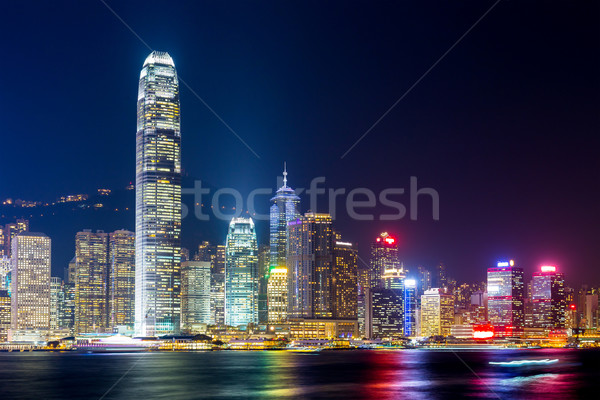 Hong Kong skyline Stock photo © leungchopan